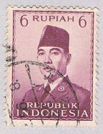 Indonesia 394 Used President Sukarno 1951 (BP25716)