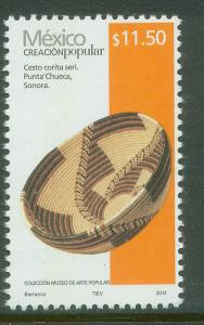 MEXICO 2502Eh, $11.50Pesos HANDCRAFTS 2013 ISSUE. MINT, NH. F-VF.