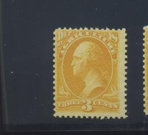 Scott #O3 Agriculture Dept. Official Mint Stamp  NH (Stock #O3-13)