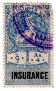 (I.B) Burma Revenue : Insurance 4a