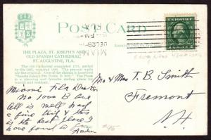 $Florida Machine Cancel Cover, Miami, 12/28/1914, fewer than 4 impressions known