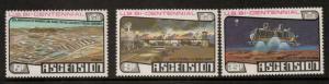 ASCENSION SG219/21 1976 BICENT OF AMERICAN REVOLUTION MNH