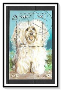 Caribbean #3400 Dogs Souvenir Sheet CTO