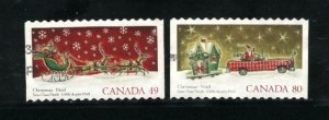 Canada #2069-70  -1  used VF 2004 PD
