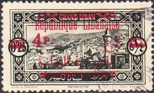 Lebanon - #104 Used