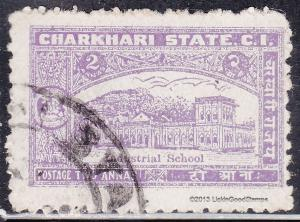 India Charkhari 30 USED 1931 Industrial School
