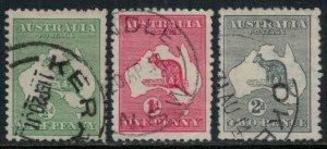 Australia #1-3  CV $19.25