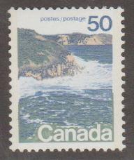 Canada Scott #598iii Type II Seashore Stamp - Mint NH Single