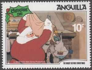 Anguilla #458 The Night Before Christmas MNH