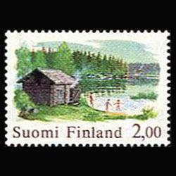 FINLAND 1977 - Scott# 567 Log House 2m NH