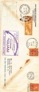 Cover: 1st Flight, San Fran, CA-Guam, Oct 5, 1935 (4864)