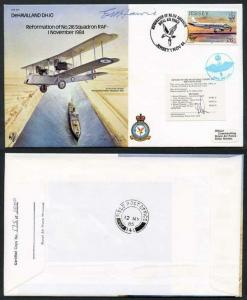 B11c Reformation of No.216 Squadron Signed by Capt Howie (F)