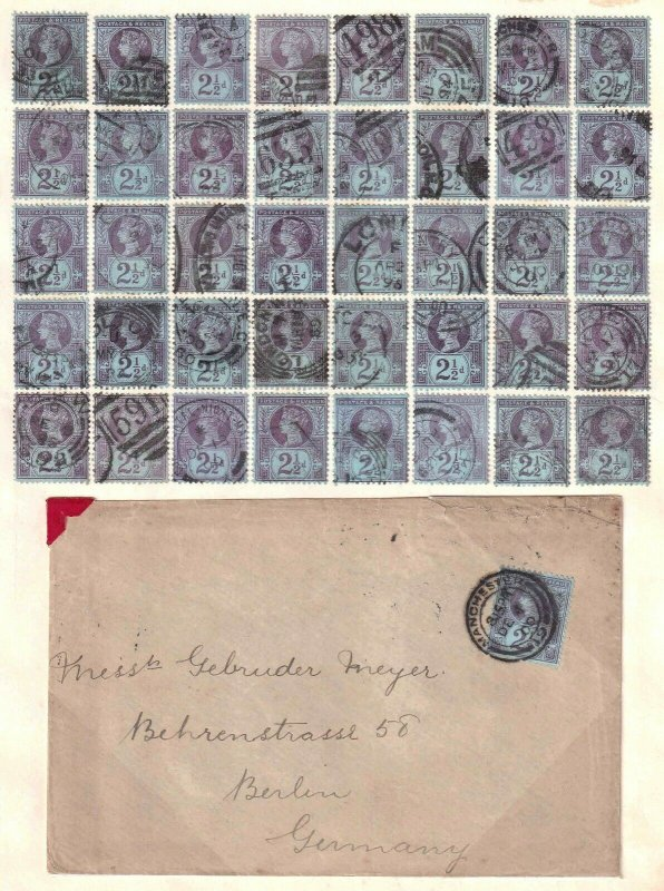 GREAT BRITAIN SC 114 x40 + COVER $148 SCV SOUND SPECIALIST COLLECTION LOT