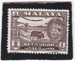 Malaya;  Selangor  # 116