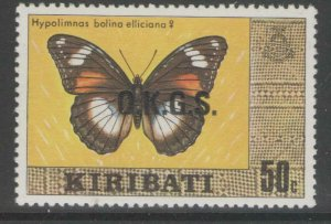 KIRIBATI SGO7 1981 50c OFFICIAL MNH
