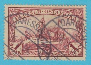 GERMAN EAST AFRICA 19 USED - NO FAULTS EXTRA FINE !