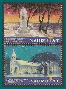 Nauru 1997 Christmas, MNH 447-448,SG473-SG474