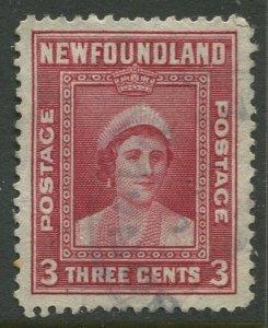 STAMP STATION PERTH Newfoundland #246 QE Definitive 1938 Used - CV$0.30