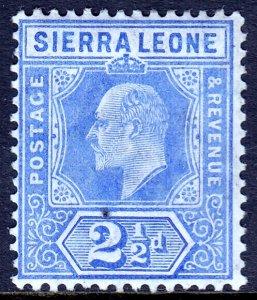 Sierra Leone - Scott #94 - MH - Pinhole - SCV $4.00
