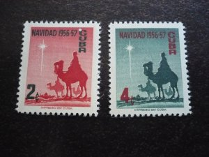 Stamps - Cuba - Scott# 562-563 - Mint Hinged Set of 2 Stamps