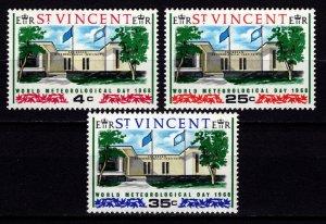 St Vincent 1968 World Meteorological Day, Set [Unused]