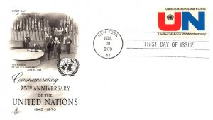 United States, First Day Cover, New York, United Nations Related
