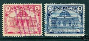 987B DOMINICAN REP. DOMINICANA 239-240 VFU