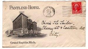 US Hotel Advertising, Pantlind Hotel, Grand Rapids  ... 7550123