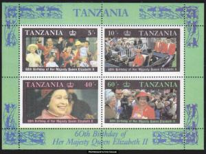 Tanzania Scott 336a Mint never hinged.