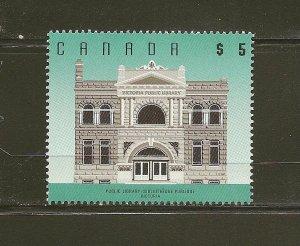 Canada 1378 $5.00 Public Library Victoria BC MNH