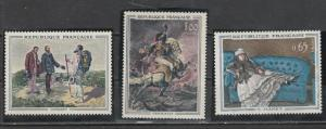 France 1962  Scott No. 1049-51  (N**)  Complet