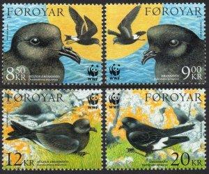 2005 Faroe Islands 530-533 Birds 13,50 €