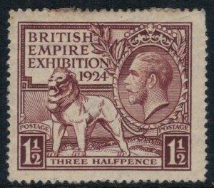 Great Britain #186*  CV $17.50