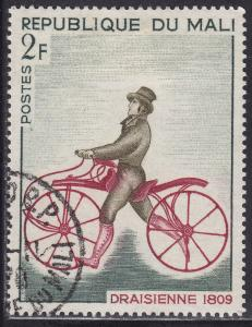 Mali 109 CTO 1968 Draisienne Bicycle, 1809