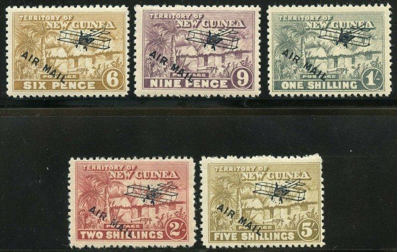PAPUA  NEW GUINEA SCOTT#C1/13  MINT HINGED  SCOTT VALUE  $311.70