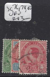 THAILAND (P1212B)   RAMA    SC   76,78,80  VFU