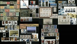 ARMENIA Postage Stamps Sheets Collection 1921-1922 MLH 1992-1996 MNH