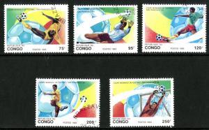 CONGO 1002-6 USED SCV $8.15 BIN $2.75 OLYMPICS