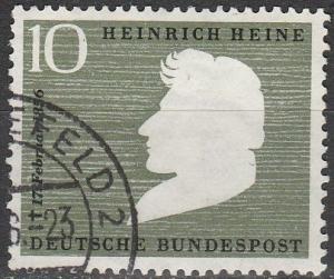 Germany #740 F-VF Used CV $3.00 (B11484)