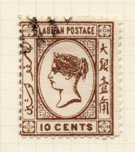 Labuan 1894 Early Issue Fine Used 10c. 277743