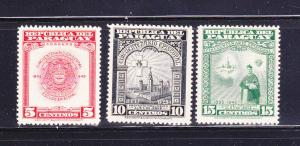Paraguay 448-450 MHR Various