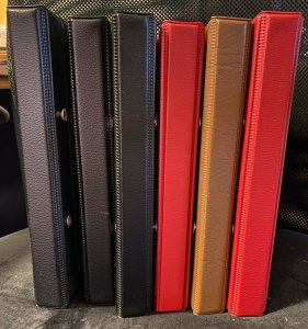 Group of 6 Showgaurd First Day cover albums 25+ pages per book 2-4 per page
