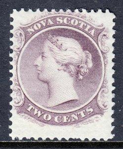 Nova Scotia - Scott #9 - MH - Short perf at bottom - SCV $12
