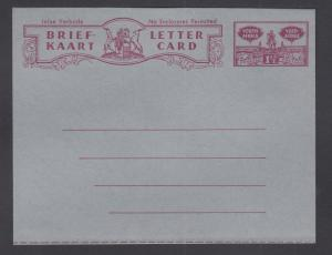 South Africa H&G F26 mint 1955 1½p Letter Card, fresh & VF