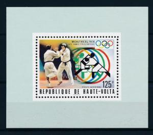 [55726] Burkina Faso 1976 Olympic games Montreal Judo MNH Sheet
