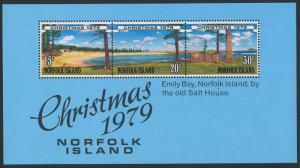 Norfolk Island 253a MNH Trees, Christmas