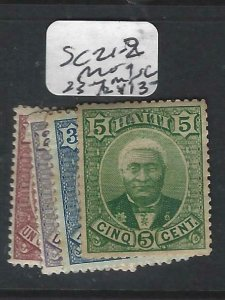 HAITI  (P1506B)  SC 21-2  MOG 23-4  MNG