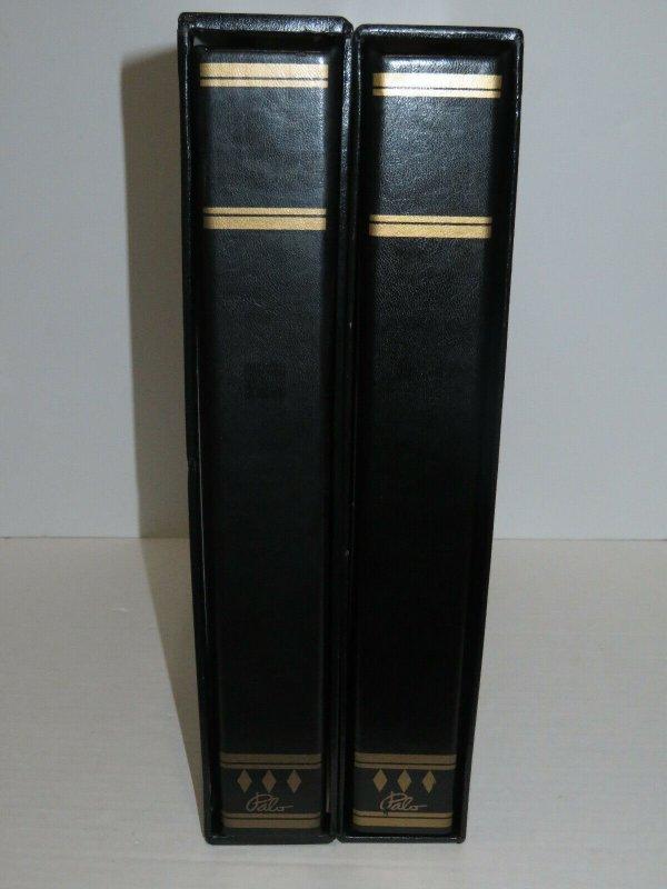 2 Gibraltar Palo Premium Albums Hingeless Pages 1886-2013 Retail $800