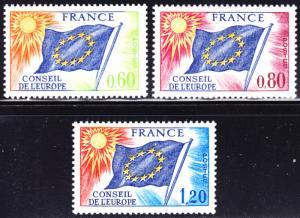 France Scott 1O16, 1O17, 1O19  F to VF mint OG NH.