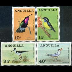 ANGUILLA 1968 - Scott# 36-9 Local Birds Set of 4 NH